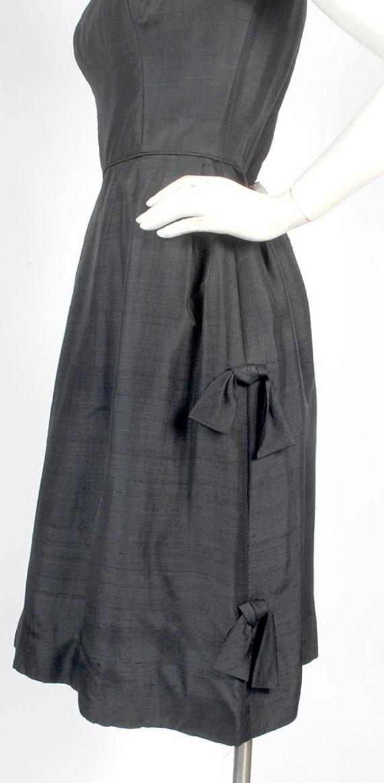 Vintage 50s Dress - 50s Party Dress - 50s Cocktai… - image 4