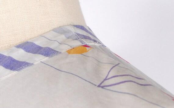 Vintage 50s Dress Set - 50s Novelty Print Skirt T… - image 6
