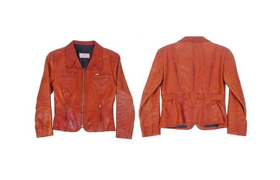 Vintage 70s Leather Jacket - Gandalf The Wizard Ja