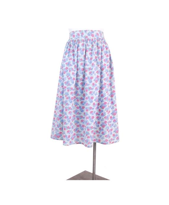 Vintage 30s Skirt - Vintage 40s Skirt - 30s Floral
