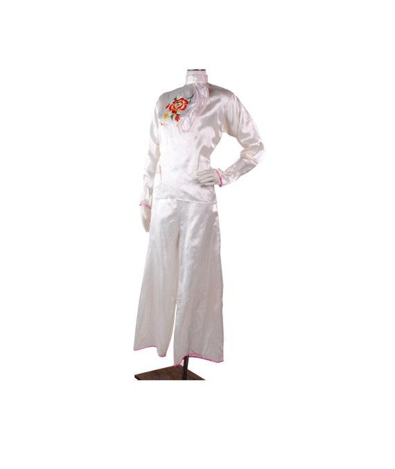Vintage 40s Pajamas - 40s Asian Pajamas - 40s Japa