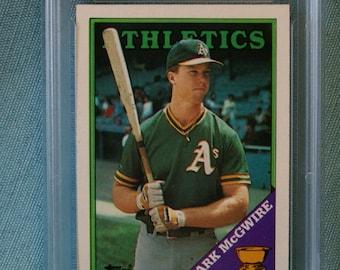 1988 Topps Mark McGwire #580 baseball card