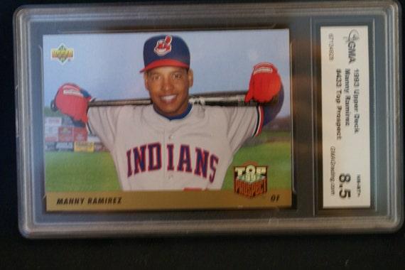 Manny Ramirez Upper Deck 1993 Baseball Card 433 Top Prospect