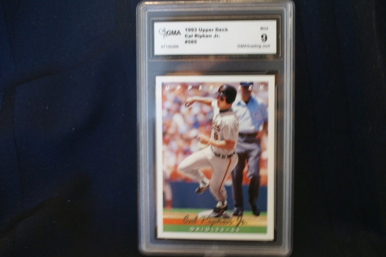 Cal Ripken Upper Deck Baseball Card 585 Rated 9 Hall Of Fame