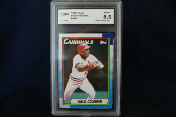 Vince Coleman Topps Baseball Card 660