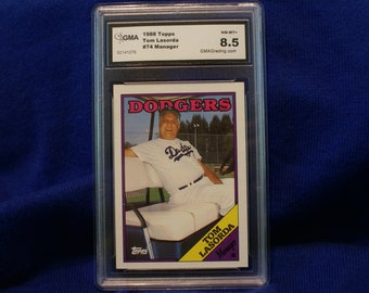 Tom Lasorda 1988 Topps #74 Manager Dodgers