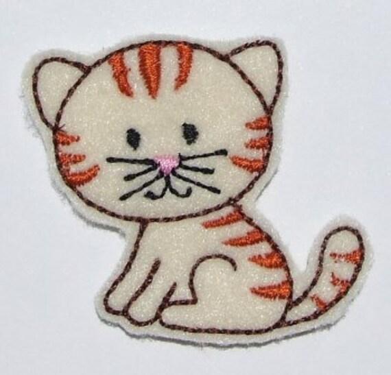 DESCARGAR INSTANT fieltro gatito apliques bordados diseños 3 | Etsy