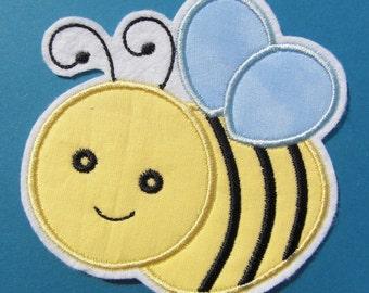 INSTANT DOWNLOAD Bumble Bee Applique designs 3 sizes