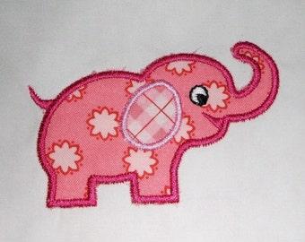 INSTANT DOWNLOAD Elephant Applique designs