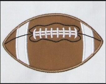 INSTANT DOWNLOAD Football Applique designs 3 sizes