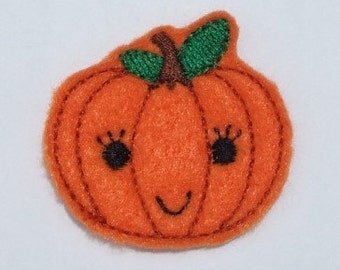Felt sweet Pumpkin Applique Embroidery mini designs