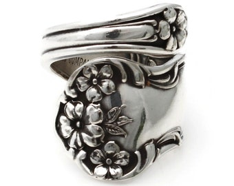 Daisy Wrapped Spoon Ring 1910