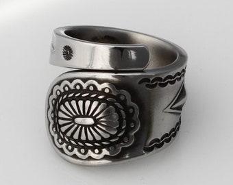 Stainless Steel Spoon  Ring Demitasse  Taos Pattern