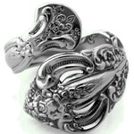 Wrapped Spoon Ring Michelangelo Stainless Steel