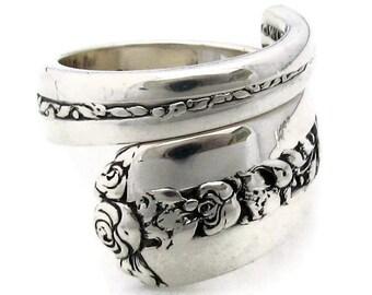 Sterling Spoon Rings