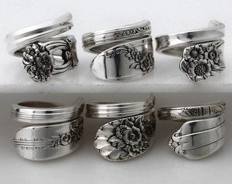 The Sensational Six Spoon Rings