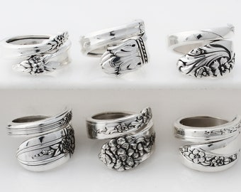 The Sensational Six 's Sexy Sisters Spoon Rings