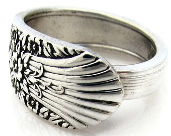 Spoon Ring 1935 Marigold or Silver Mist