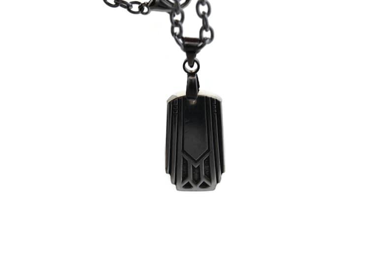 Friendship Necklace Unique Pendant Silverware Jewelry Art Deco Pendant Necklace Gift For Her 1932