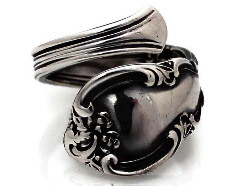 Spoon Ring Solid Sterling Silver American Classic image 0