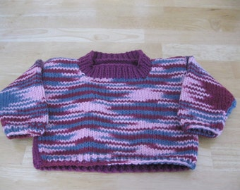6 Month long sleeve pullover in knit