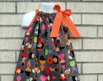 Ann Kelle Halloween costumes Pillowcase Dress, Sizes 3M  up to 12  years