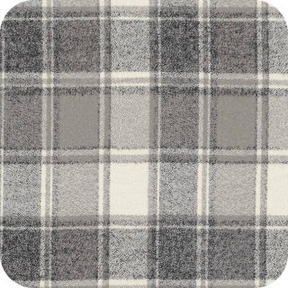 Brown Flannel Solid Kaufman Fabrics by the 1//2 yard