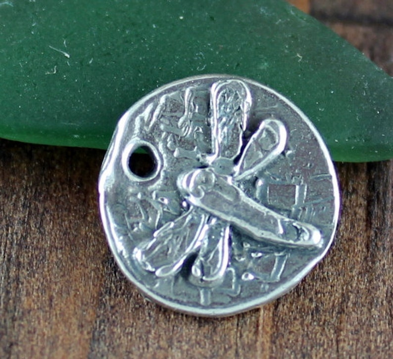 Dragonfly Charm Sterling Silver  001CH47