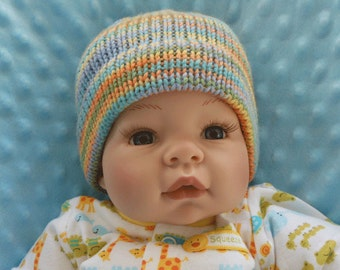 Newborn Baby Knit Hat - Knit Hat for Newborn - Baby Hat - Baby Knit Hat - Shower Gift - Baby Gift - Knitted Hat