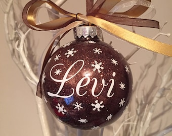 Personalised Name Christmas Bauble