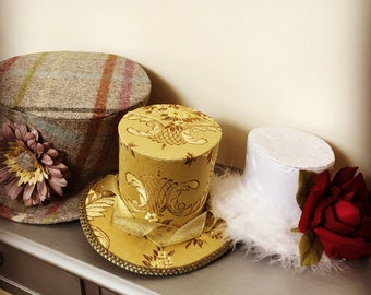 Mini Top Hats by Cat the Milliner