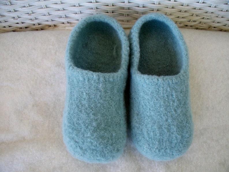 3e7a18ead6a3a Sea Foam Wool Slippers felted wool slippers womens slippers wool slippers  felted slippers wool house shoes boiled wool slippers women