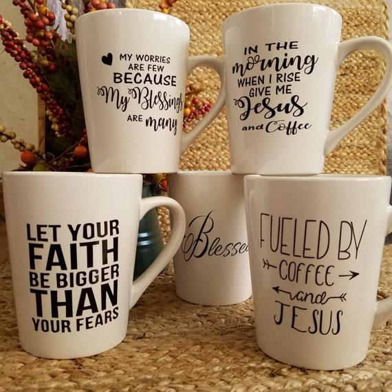 Inspirational Coffee Tea Mugs 14oz Mug coffee mug coffee cup tea cup quote saying Choose your favorite