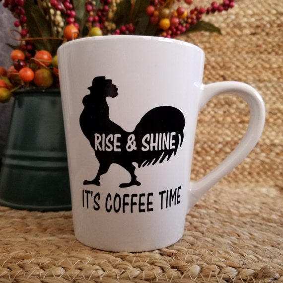 Rise and Shine Mug and other Fun Quote Coffee Tea Mugs 14oz Mug coffee mug coffee cup tea quote saying Choose your favorite
