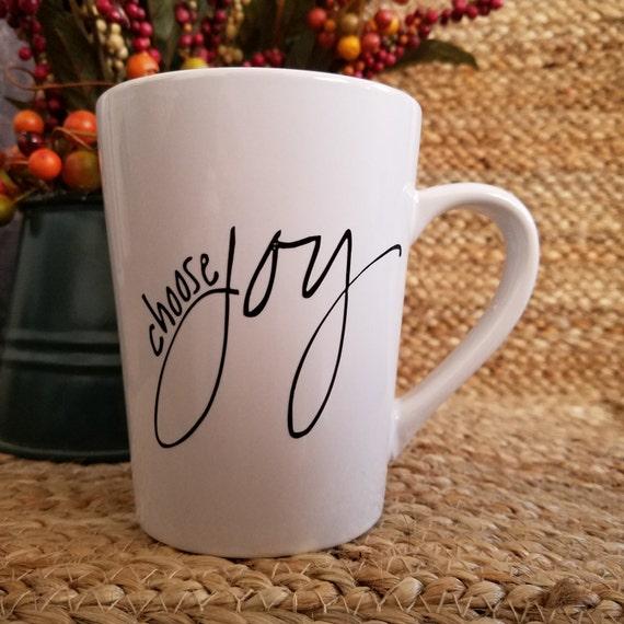 Choose Joy 14oz Mug coffee mug coffee cup tea cup