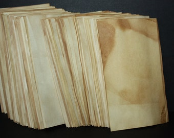 Tea Stained Paper 3 x 5