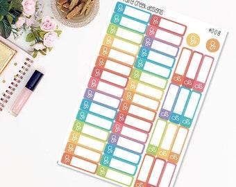 Work Schedule Planner Stickers//Finance Planner Stickers//Functional Stickers//Erin Condren//Plum Paper//Personal Planners #171