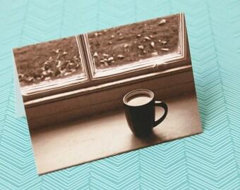 Coffee in the Window Notecard