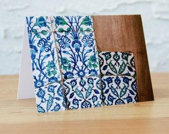 Ottoman Tiles Notecard