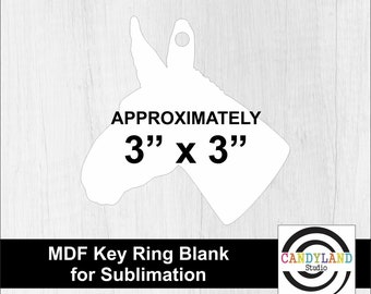 Key Ring Sublimation Key Chain Nevada Sublimation Blank