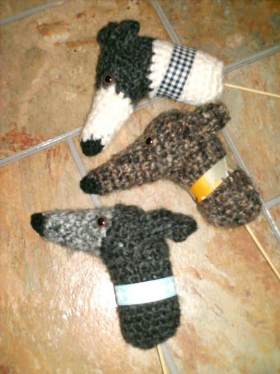 Aeriedesigns Plant Pokes Greyhound Dog Ornaments Pdf Crochet Etsy