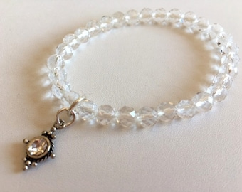 Quartz Crystal Bracelet-Crystal Energy Bracelet