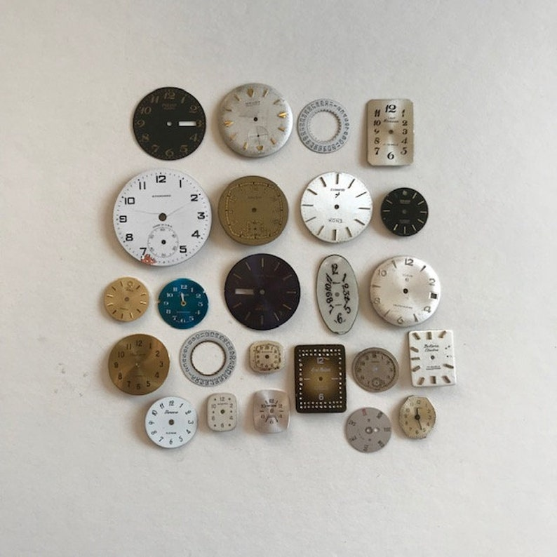 Steampunk Watch Face Lot  24 Watch Faces image 0