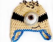 CROCHET PATTERN: Minion Inspired