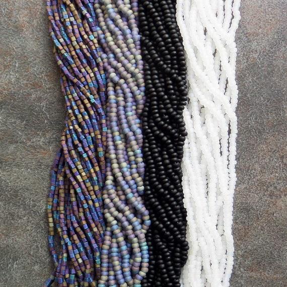 SALMON PINK lined 2-cut 10//0 Hank Czech seed beads BBB