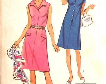 Classic Shirtdress Sewing Pattern Bust 37