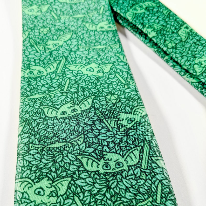 Goblin Tie Dungeons and Dragons tie Geeky tie