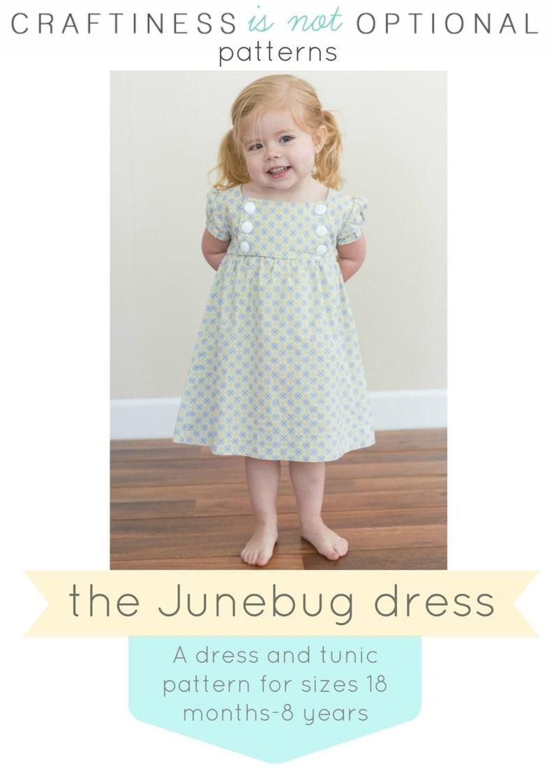 Junebug Dress and Tunic PDF pattern image 0