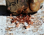 "1/2"" Flat Head Rivets....Copper  or Brass 30 pieces -Free Shipping"