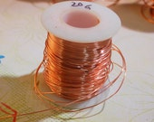10 FT - 20G Copper Wire Solid